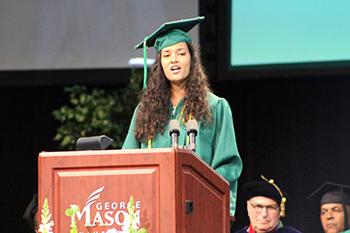 2018 Student Speaker Nena Abernathy